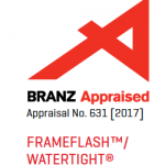 Watertight Flashing Tape BRANZ Appraisal 631