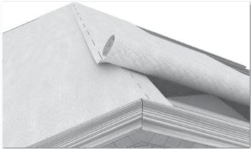 Watertight® Ridge Overlap